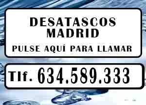 Desatascos San Martin de Valdeiglesias Urgentes